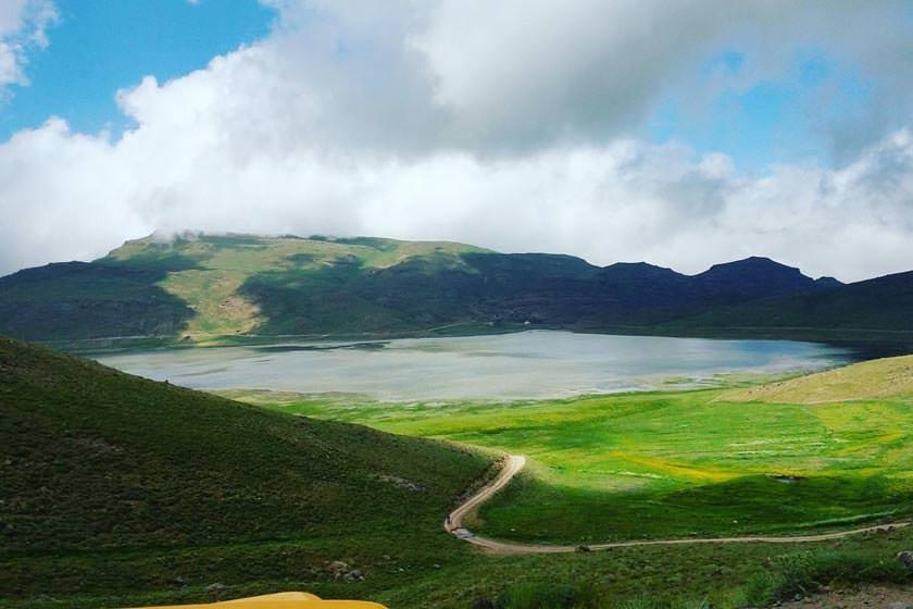 دریاچه استان اردبیل باربری دی