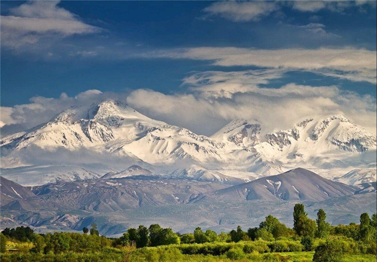 کوه سبلان در استان اردبیل باربری دی